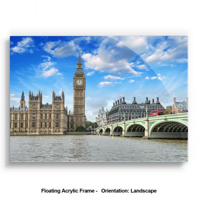Landsape acrylic photo frame