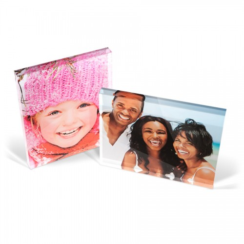 10x8 acrylic photo block