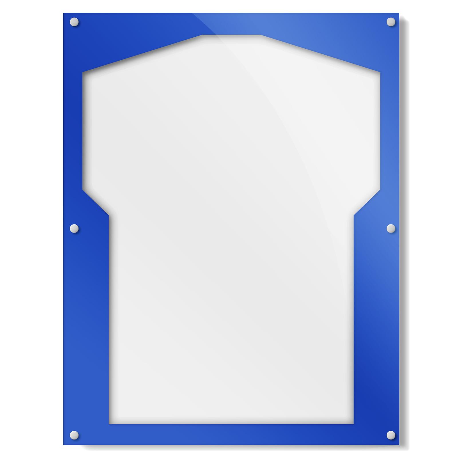 Blue Border Shirt Frame
