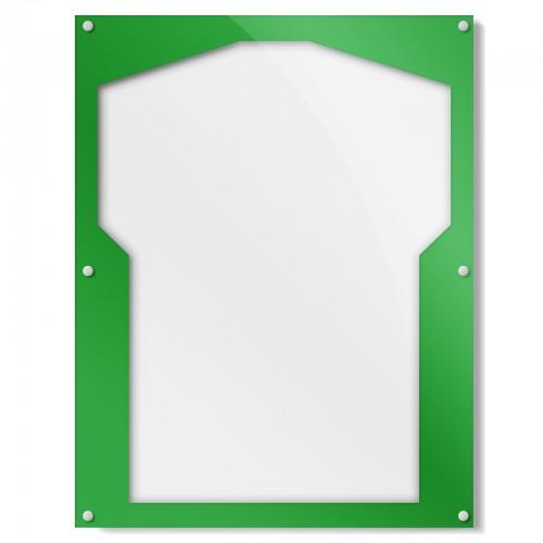 Green Border Shirt Frame