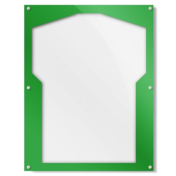 Green Border Shirt Frame