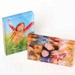 2 Printed Photo Acrylic Blocks