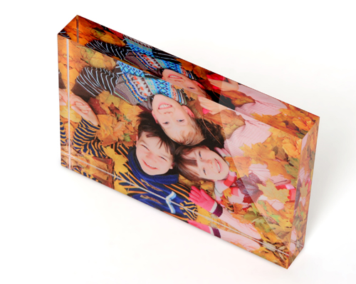 Modern Photo Printed Acrylic Blocks and Frames