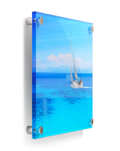 contemporary printed acrylic wall frame