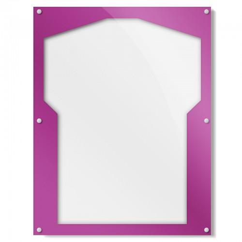 Purple Border Shirt Frame