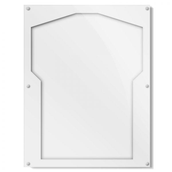White Border Shirt Frame