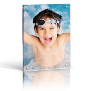 Desktop magnetic acrylic Photo Blocks