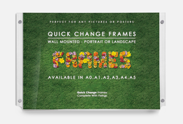 Quick Change Wall Frames