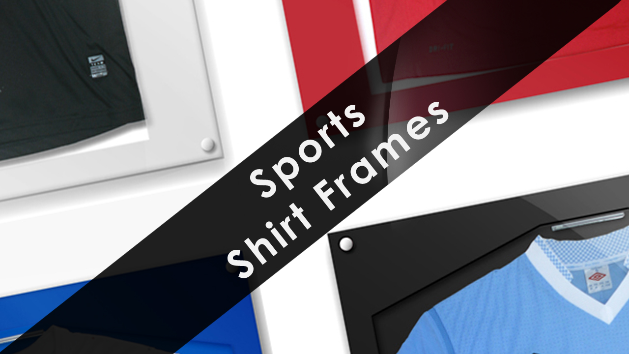 Acrylic Sports Shirt Frames