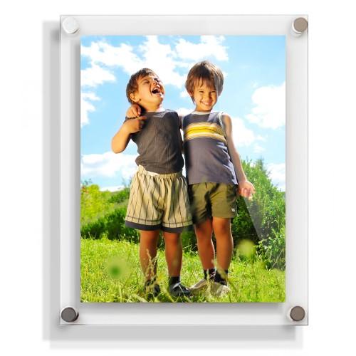 10x8 acrylic wall frame