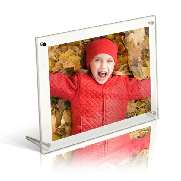10x8 Acrylic Desktop Frame