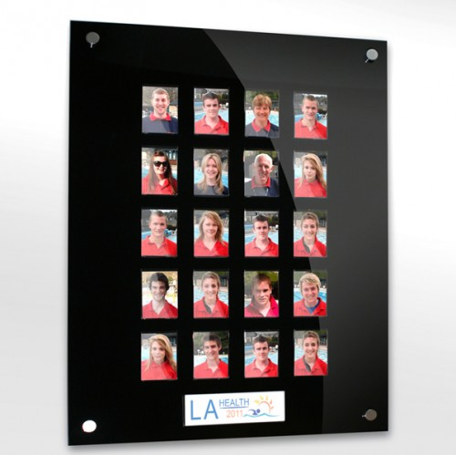20 image staff photo board