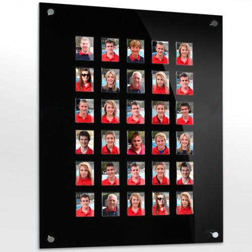 30 image staff photo board