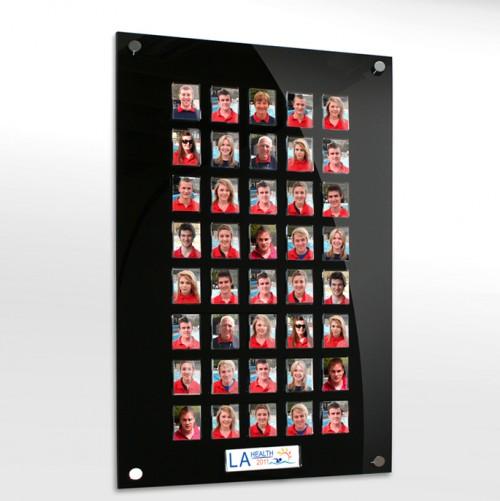 40 image staff photo board