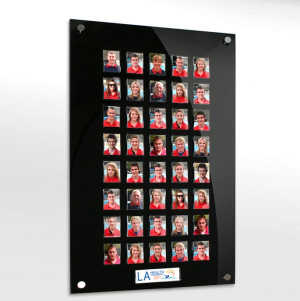 40 image staff photo board