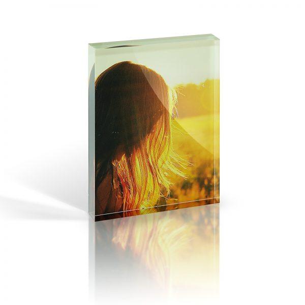 7x5 acrylic photo block