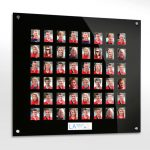 48 image acrylic staff photo board
