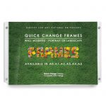 quick change acrylic wall frame