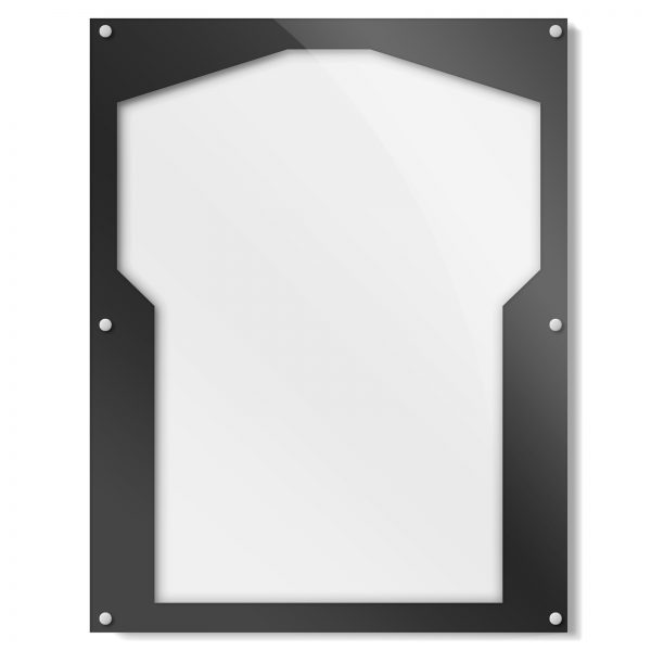 Black Border Shirt Frame