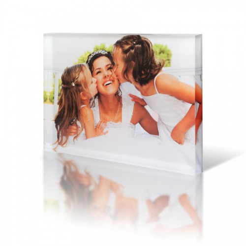 A4 Acrylic photo block
