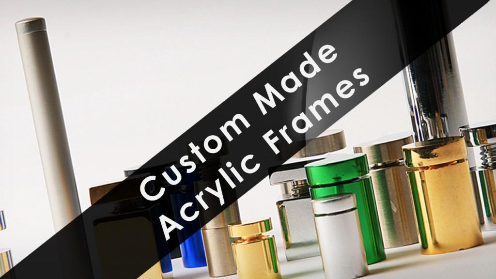 Custom Made Acrylic Frames | Get Acrylic Photo Frames