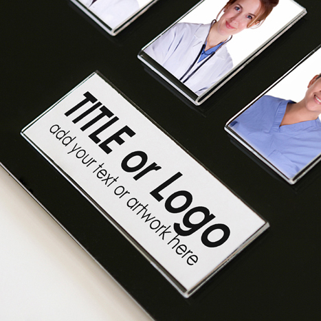 16 Image Acrylic Staff Photo Board Get Acrylic Photo Frames