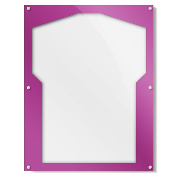 Purple Border Shirt Frame