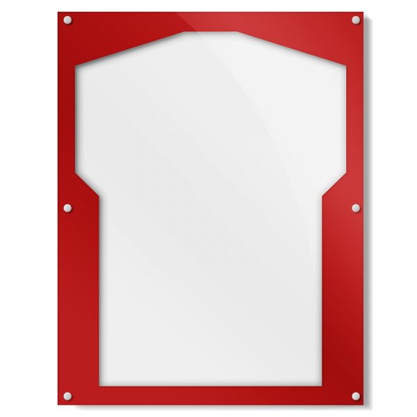 Red Border Shirt Frame