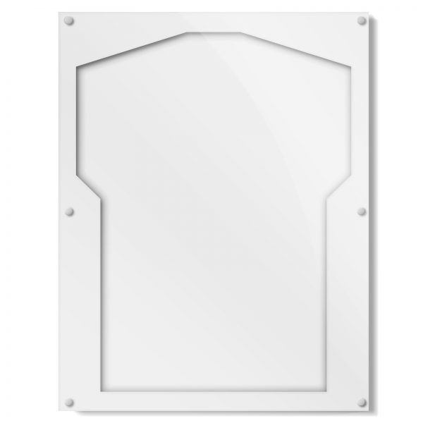 White Border Sports Shirt Frame, acrylic