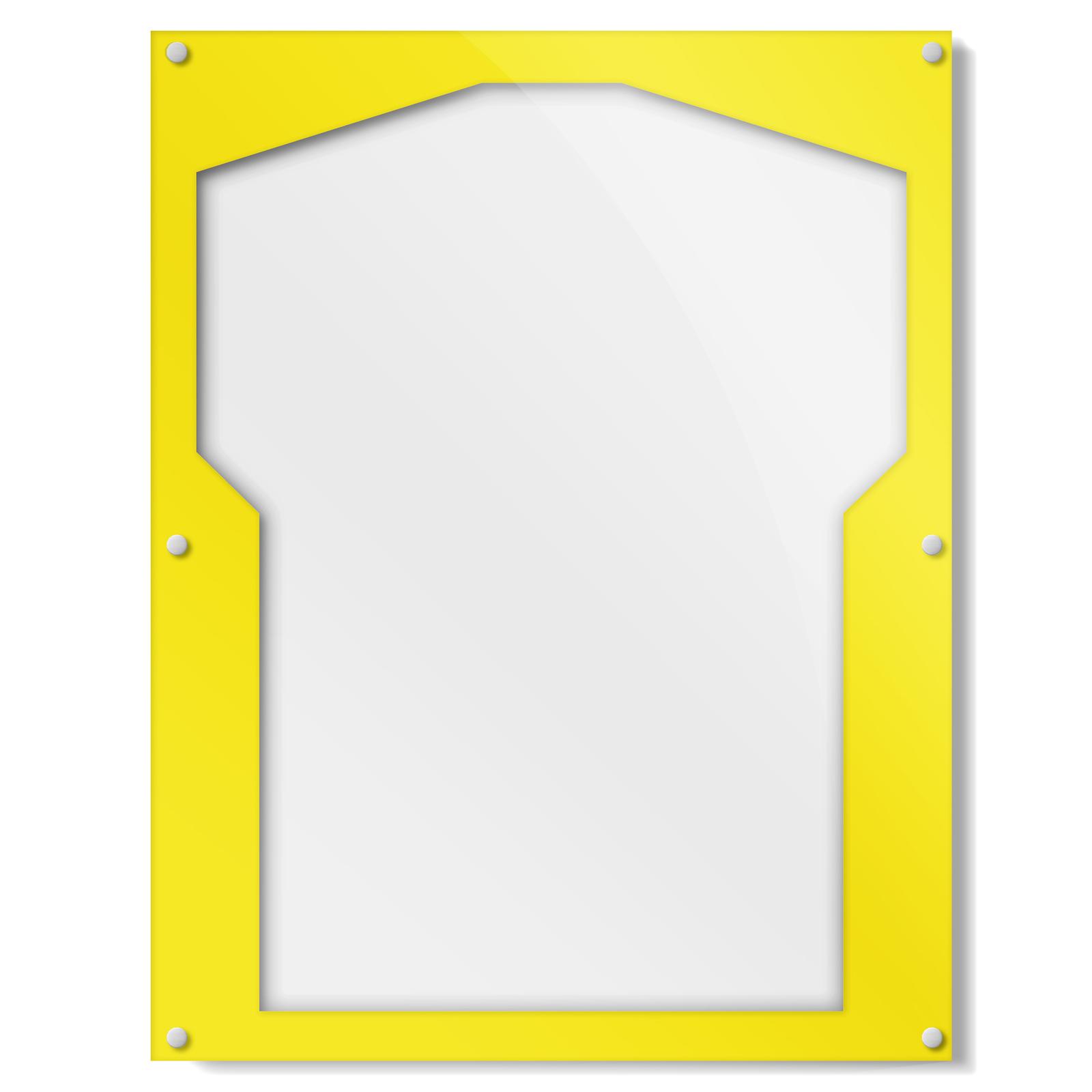 Yellow Border Shirt Frame