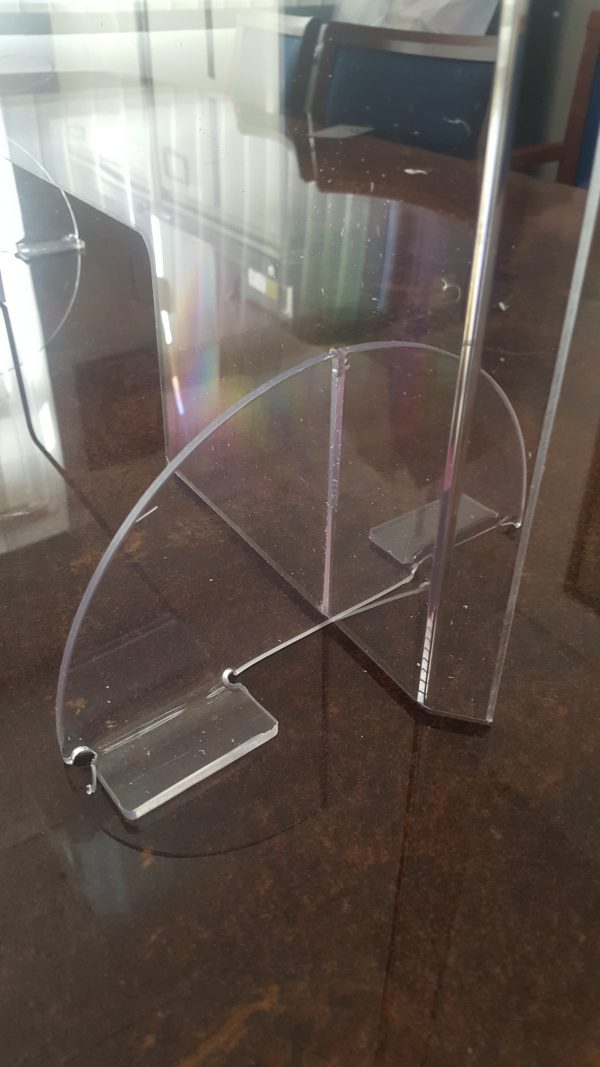budget perspex screen counter protection
