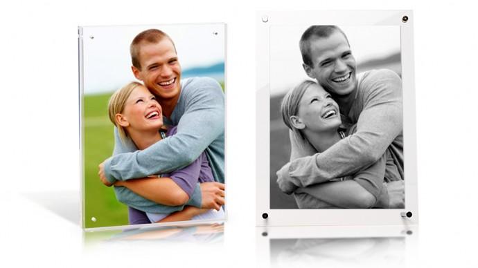 presents for him - acrylic photo frame