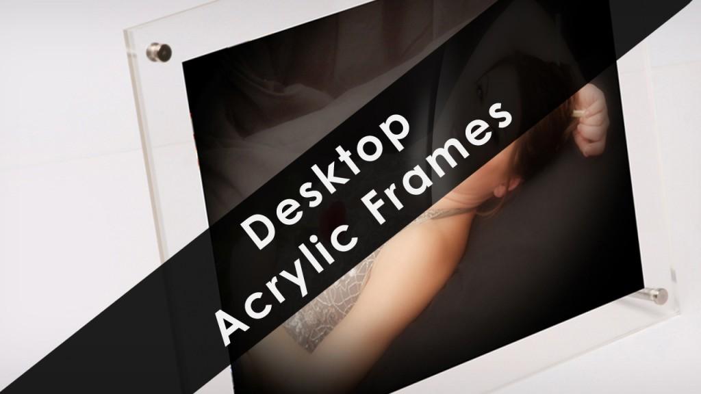 Free Standing Desktop Photo Frames desktop acrylic frame 21