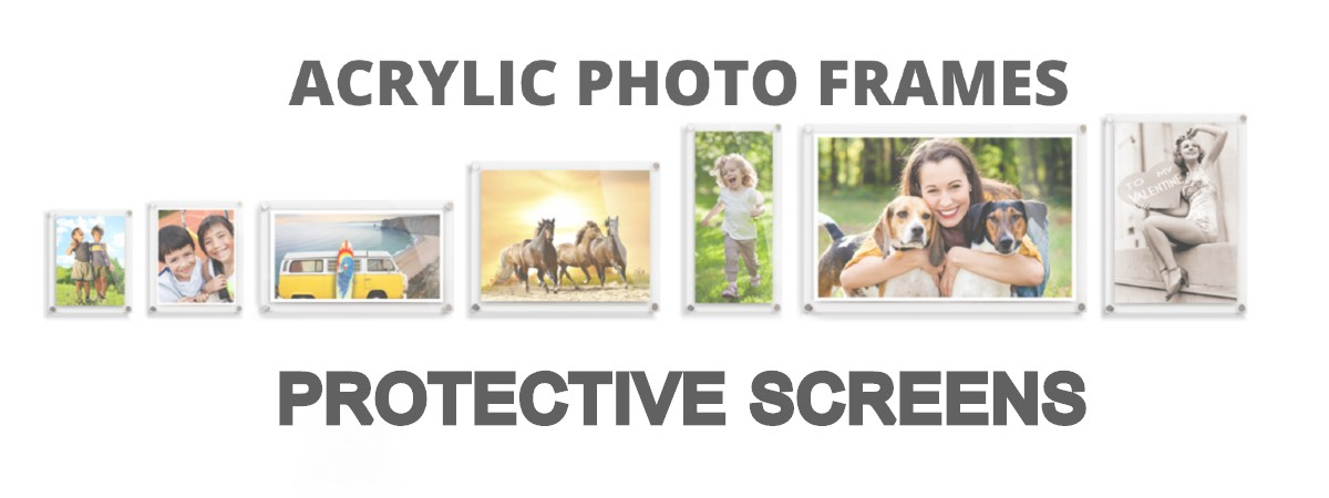get acrylic photo frames