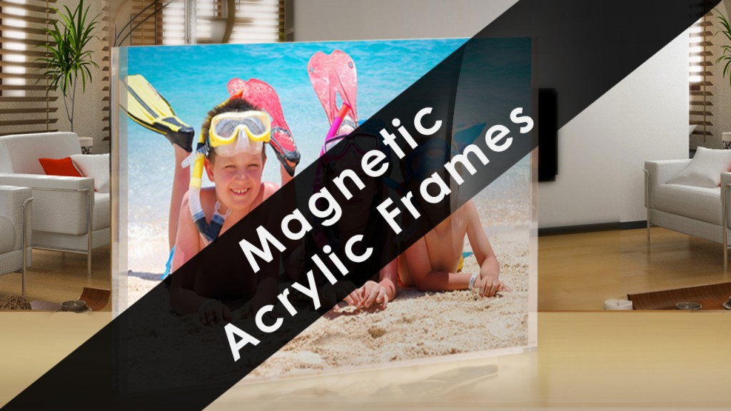 Magnetic Photo Frames magnetic acrylic frame 2
