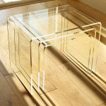 acrylic nest of tables