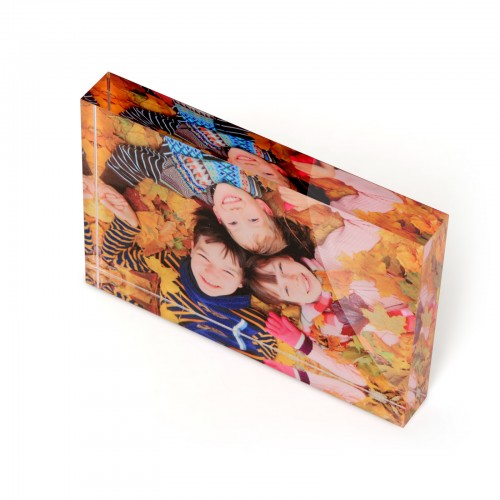 A5 Acrylic photo block