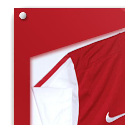 Sports Shirt Frames And Modern Designs shirt frame red whitebackground400