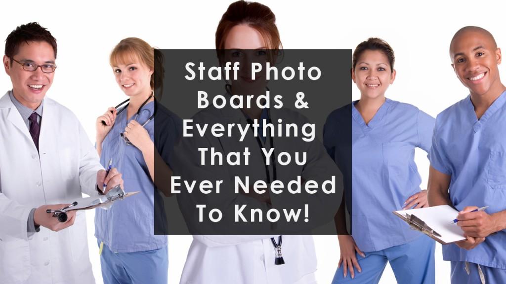 Staff Photo Board